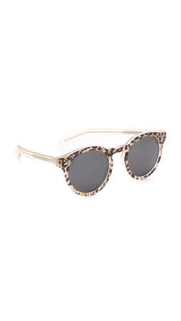 Illesteva Leonard Ii Safari Sunglasses - Safari/Black