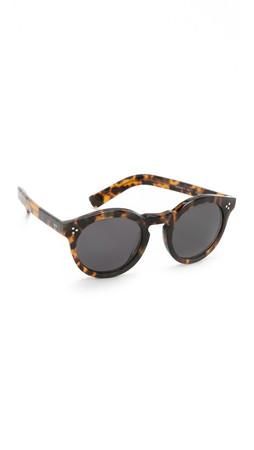 Illesteva Leonard Ii Sunglasses - Tortoise/Black