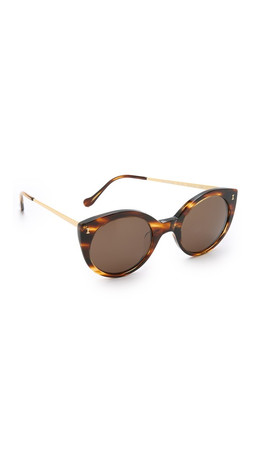 Illesteva Palm Beach Sunglasses - Sand/Black