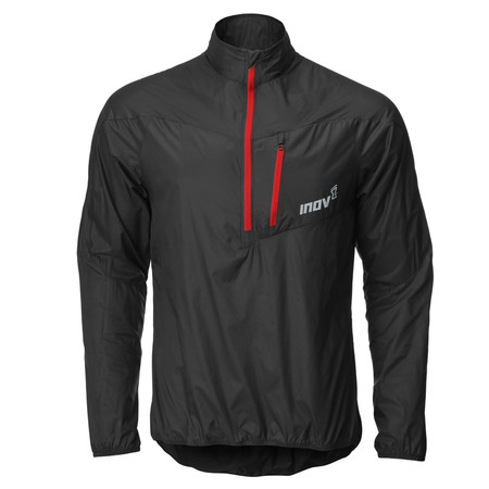 "Inov-8 Race Eliteâ""¢ Windshell half Zip - SS15 - Large Black/Red"