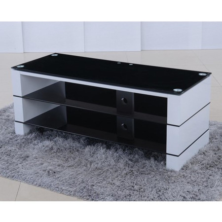 Jacobs High Gloss White TV Stand