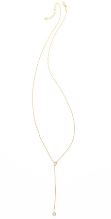 Jacquie Aiche Ja Bezel Rosary Necklace - Yellow Gold