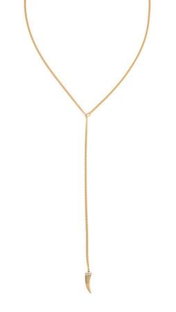 Jennifer Zeuner Jewelry Avril Lariat Necklace - Gold