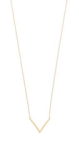 Jennifer Zeuner Jewelry Bianca Small Necklace - Gold