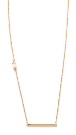Jennifer Zeuner Jewelry Briar Necklace - Gold