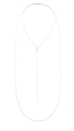 Jennifer Zeuner Jewelry Drew Necklace - Silver