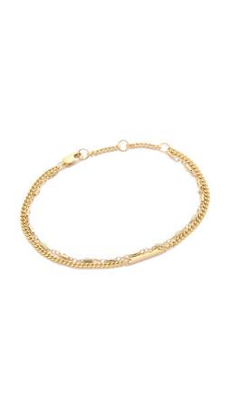 Jennifer Zeuner Jewelry Flynn Bracelet - Gold