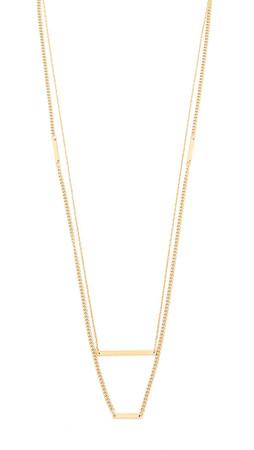 Jennifer Zeuner Jewelry Hazel Necklace - Gold