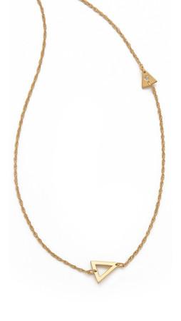 Jennifer Zeuner Jewelry Sasha Diamond Necklace - Gold