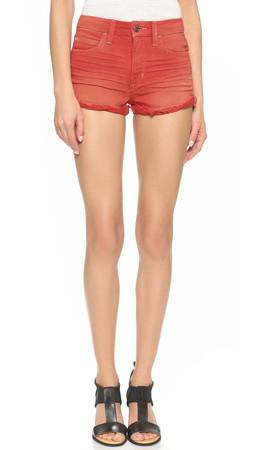 Joe'S Jeans High Rise Rolled Shorts - Poppy