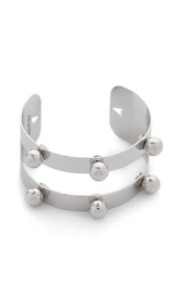 Joomi Lim Dot And Dash Sphere Bracelet - Rhodium