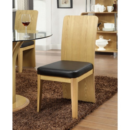 Jual Furnishings Curve Dining Chair in Oak
