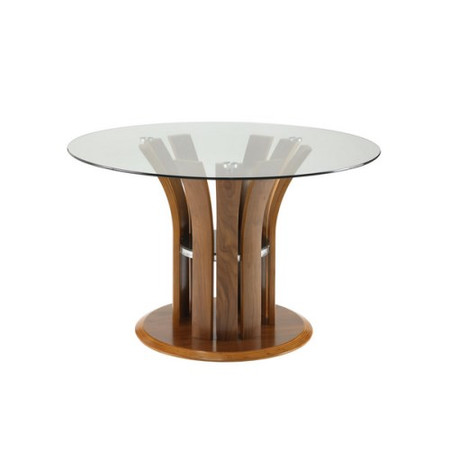 Jual Furnishings Curve Dining Table in Walnut