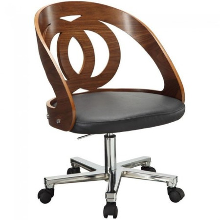Jual Walnut Office Chair