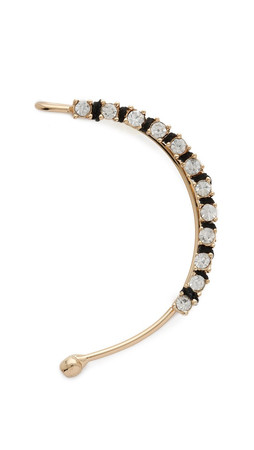 Jules Smith Classy Left Ear Crawler - Gold Multi