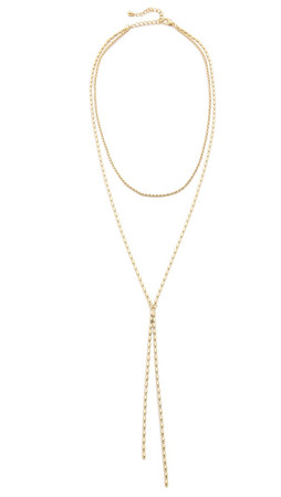 Jules Smith Karlie Necklace - Gold