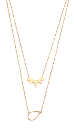 Jules Smith The Muse Layered Necklace - Gold