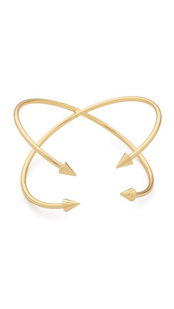Jules Smith Zoe Bullet Cuff Bracelet - Gold