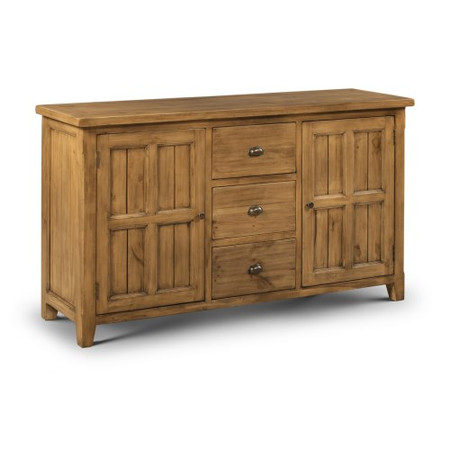 Julian Bowen Mayflower Large Sideboard In Pine