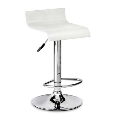 Julian Bowen Stratos Bar Stool in White