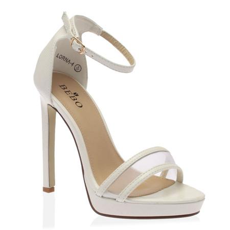 Kallie Stiletto Heels in White