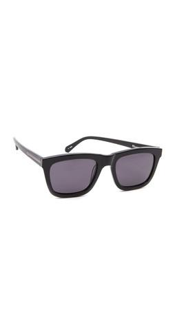Karen Walker Deep Freeze Sunglasses - Black