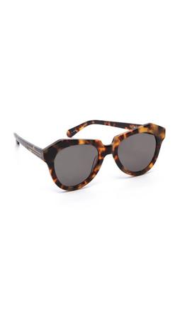 Karen Walker The Number One Sunglasses - Crazy Tort