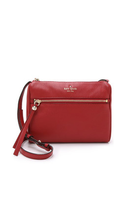 Kate Spade New York Cayli Cross Body Bag - Dynasty Red