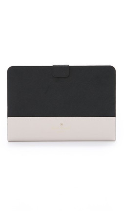 Kate Spade New York Cedar Street Ipad Mini Magnetic Folio With Stand - Black/Pebble