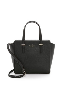 Kate Spade New York Cedar Street Small Hayden Satchel - Black