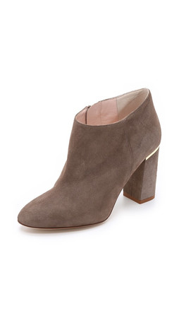 Kate Spade New York Darota Suede Booties - Mousse