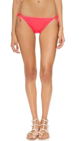 Kate Spade New York Georgica Beach Side Bow Bikini Bottoms - Geranium
