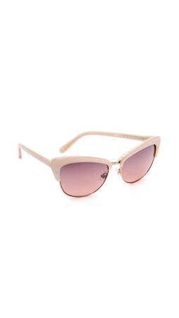 Kate Spade New York Ginette Sunglasses - Beige/Rose
