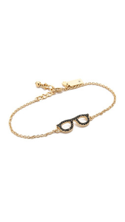 Kate Spade New York Goreski Glasses Bracelet - Jet