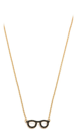 Kate Spade New York Goreski Glasses Necklace - Jet