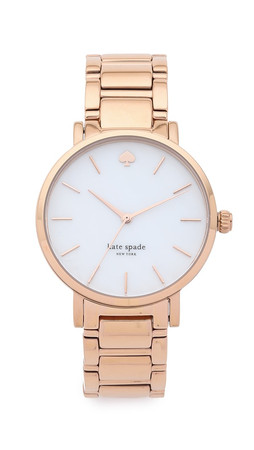 Kate Spade New York Gramercy Bracelet Watch - Rose Gold