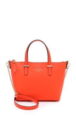 Kate Spade New York Harmony Cross Body Bag - Bright Orange