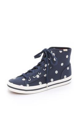 Kate Spade New York Keds For Kate Spade Dori Dot Sneakers - Navy