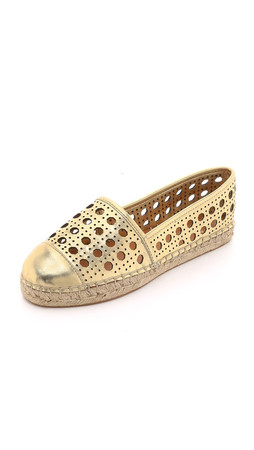 Kate Spade New York Leonia Espadrilles - Gold
