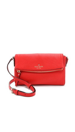 Kate Spade New York Mini Carson Cross Body Bag - Cherry Liquer
