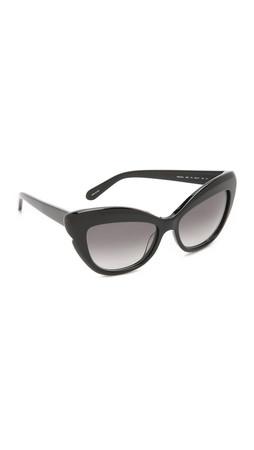 Kate Spade New York Odelia Sunglasses - Black/Grey Gradient