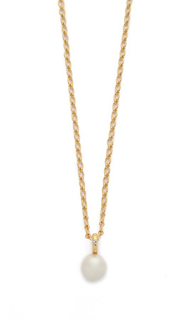 Kate Spade New York Pearly Delight Long Pendant Necklace - Cream Multi