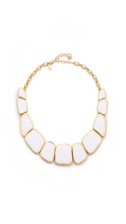 Kate Spade New York Play To The Gallery Necklace - White