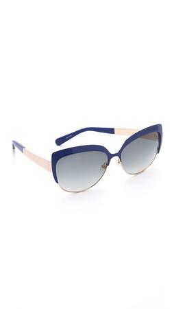 Kate Spade New York Raelyn Sunglasses - Lapis/Grey Gradient