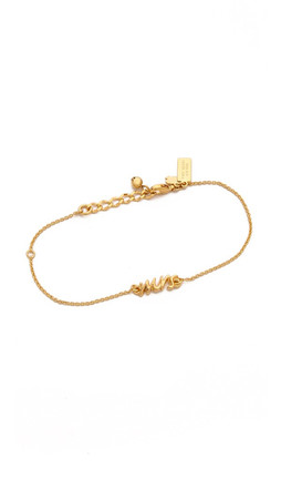 Kate Spade New York Say Yes Mrs Bracelet - Gold