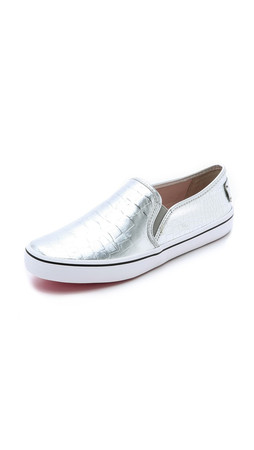Kate Spade New York Serena Slip On Sneakers - Silver
