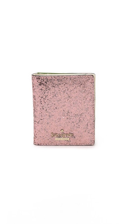 Kate Spade New York Small Stacy Snap Wallet - Rose