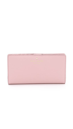 Kate Spade New York Stacy Snap Wallet - Rose Jade