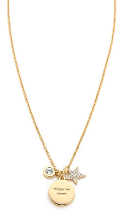 Kate Spade New York Star Born To Shine Charm Necklace - Gold Multi