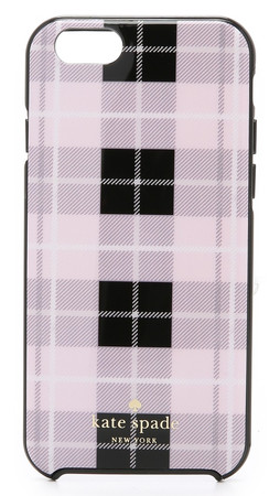 Kate Spade New York Woodland Plaid Iphone 6 / 6S Case - Pastry Pink